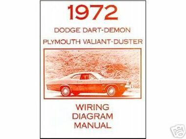 1972 72 plymouth duster valiant wiring diagram mjl motorsports com rh mjlmotorsports com 1973 Duster 1977 Duster