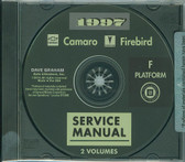 1997 CAMARO/FIREBIRD SHOP MANUALS ON CD