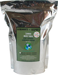 Airsoft Alpha Biodegradable BB .25 Gram 5000 Count Bag