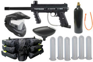 Tippmann 98 Custom Platinum Basic Paintball Gun Player Kit