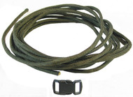 DIY Paracord Survival Bracelet Kit Olive 139