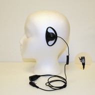 Klutch Radio D-Shape Earpiece Headset