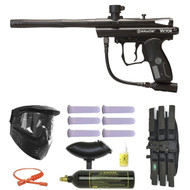 Spyder Victor II Paintball Gun Package