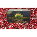 Wrek Elite Premium 2000 Count Paintballs Scarlet/ Gray Breaks Yellow