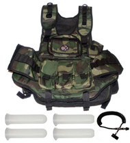 GXG Deluxe Camo Vest + Remote + 4 - 140 Round Tubes