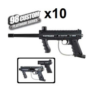 Tippmann Rental 98 Custom Basic Paintball Marker Set Of 10 Black