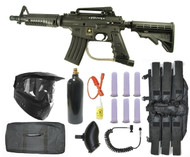 Tippmann US ARMY Alpha Black Elite Tactical Sniper2 Gun Set