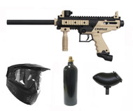 Tippmann Cronus Paintball Marker Gun Tan Basic Package