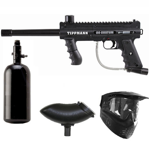 Tippmann 98 Custom PS Paintball Marker Gun N2 Package