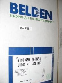 Belden 9116 009U1000