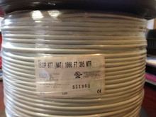 Belden 1533P Cat5e Shielded 100 MHZ Network Cable White 1000FT