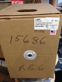 1000-Feet RG-6 CATV PVC Coax Cable 18-CCS 3000MHZ 4-4061