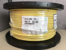 Belden 1351A 004 Yellow CAT6 Horizontal, 4pr, F/UTP, PVC CMR 1000FT