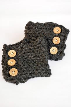 Winter Boot Cuffs - Slate