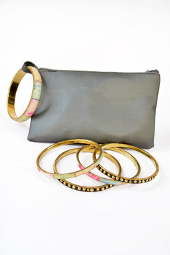 Bangle Clutch - Tie Dye