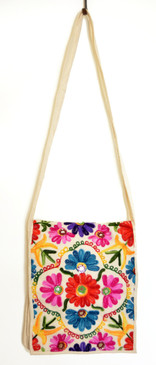 Loom-Embroidered Satchel