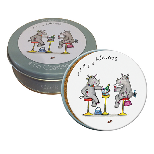 Whinos Set of 4 Coasters