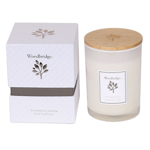 Woodbridge Soy Candle - Black Fig and Cassis