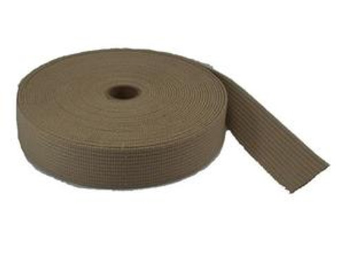 "Fuel Tank Webbing - Tan 1-1/2"" -  PRICE PER FOOT - 3531T52"