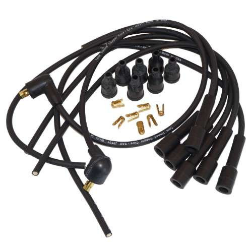 Straight Boot 6 cylinder Spark Plug Wiring Set