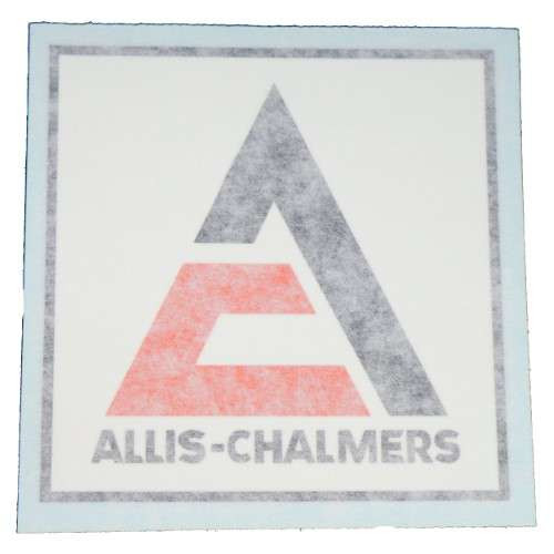 Allis Chalmers Logo Front Grill Vinyl Decal - 70924243