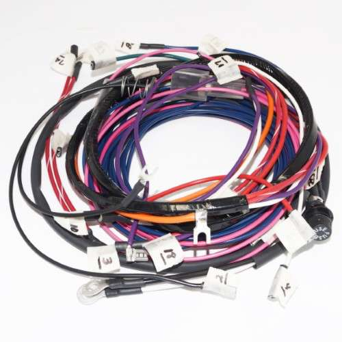 complete wiring harness kit allis chalmers d17 series iv ac AC Wiring Harness 1971 GTO  ac wiring harness 1987 grand national 1987 Toyota Wiring Harness Diagram Nissan Wiring Harness