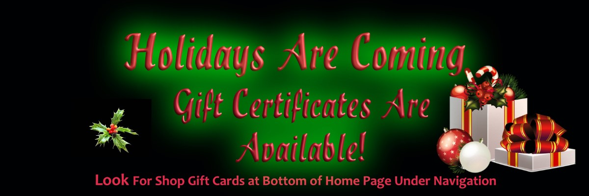 Allis Chalmers Parts Gift Certificates