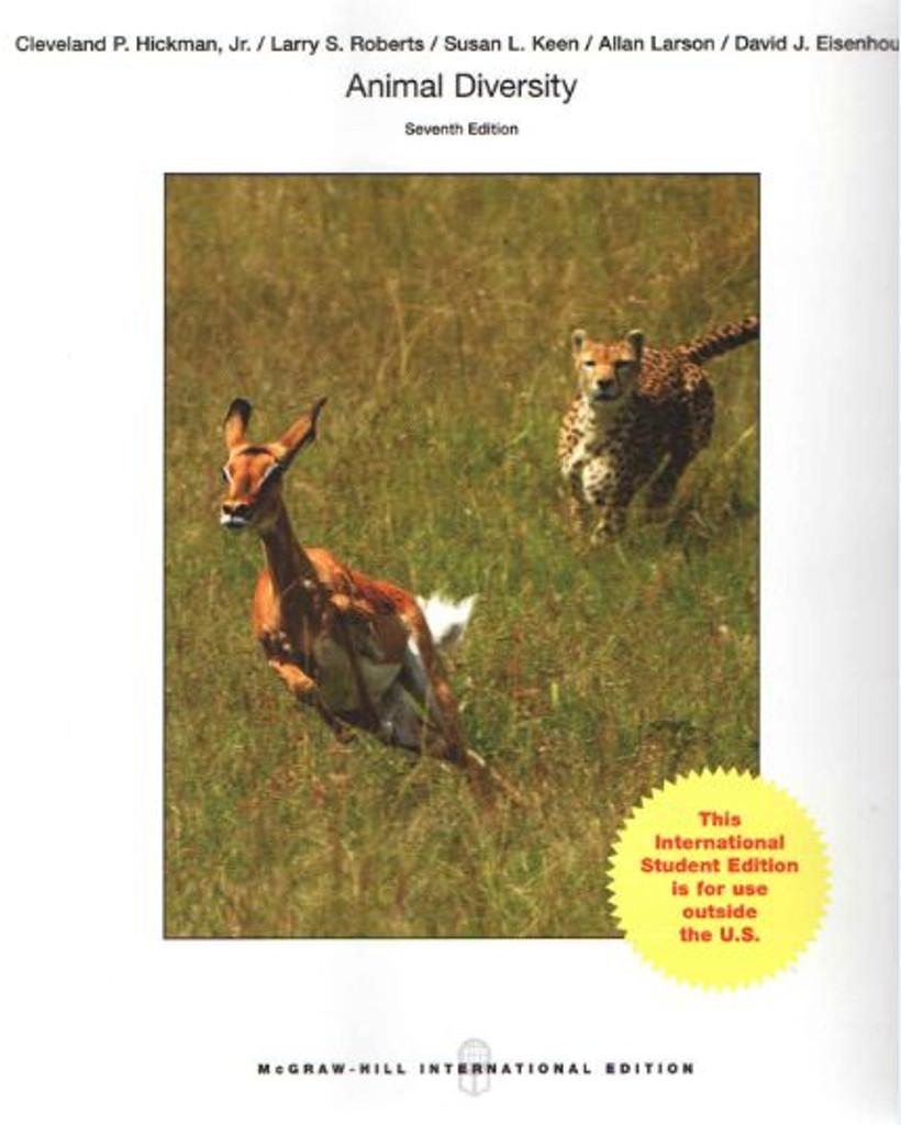 Animal Diversity (7th Edition) Hickman IE