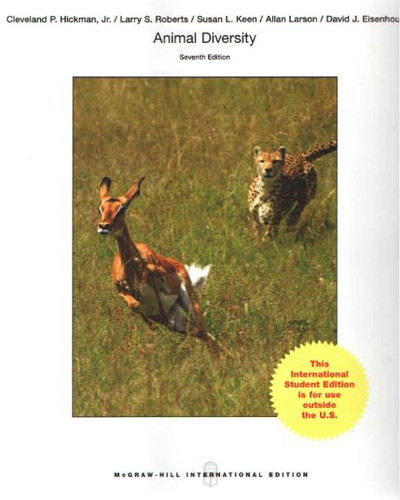 Animal Diversity (7th Edition) Hickman IE