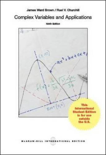 Complex Variables and Applications (9th Edition) Brown IE