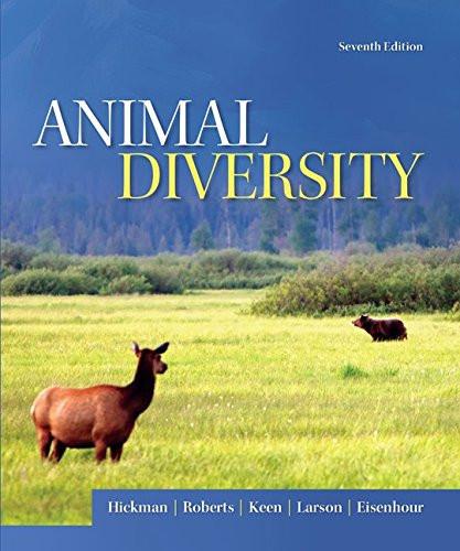 Animal Diversity (7th Edition) Hickman