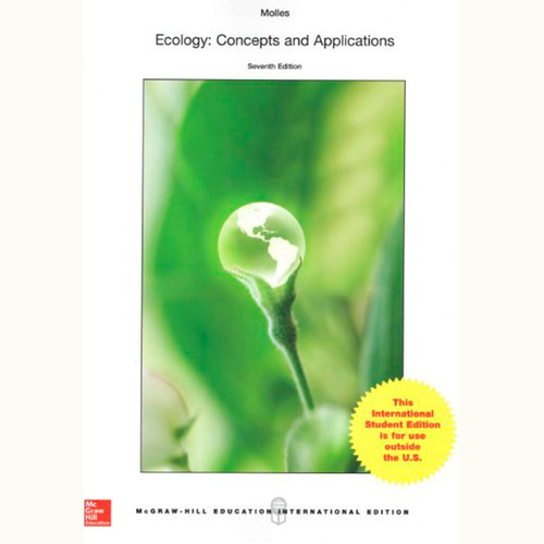 Ecology: Concepts and Applications (7th Edition) Manuel Molles IE