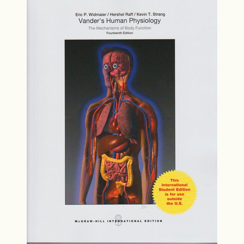 Vander's Human Physiology (14th Edition) Eric Widmaier and Hershel Raff IE