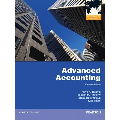 Advanced Accounting (11th Edition) Beams IE