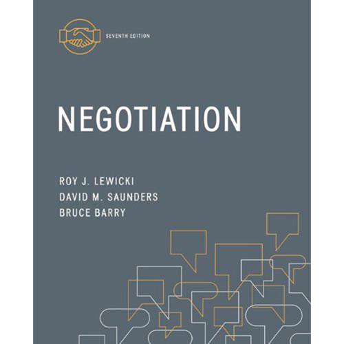 Negotiation (7th Edition) Lewicki