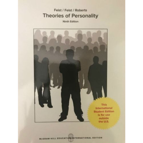 Theories of Personality (9th Edition) Jess Feist and Gregory J Feist | 9781260083538