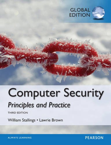 Computer Security: Principles and Practice (3rd Edition) Stallings IE
