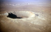 Canyon Diablo, Impact Ejecta Crater Rim Rock