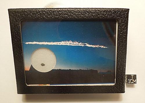 Chelyabinsk Meteorite Display - Historic Russian Fireball and Shockwave