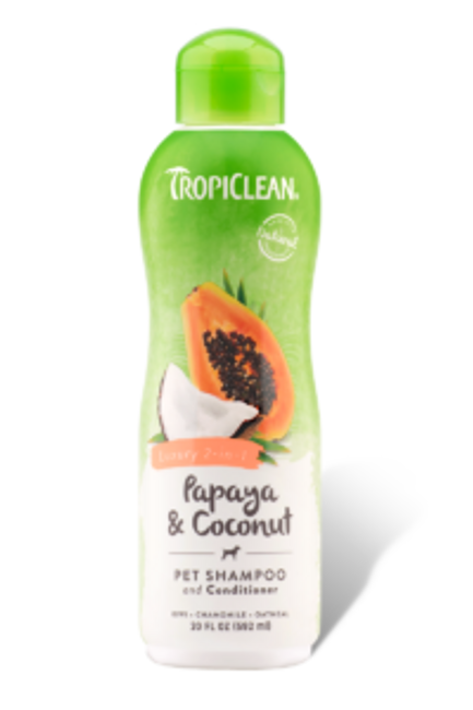 TropiClean 2 in 1 Shampoo and Conditioner 20 oz