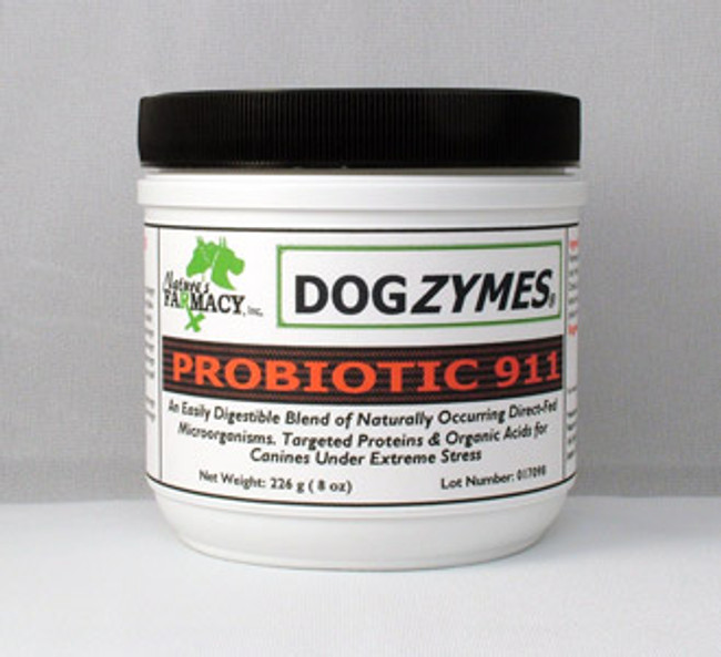 DOGZYMES Probiotic 911 8oz powder