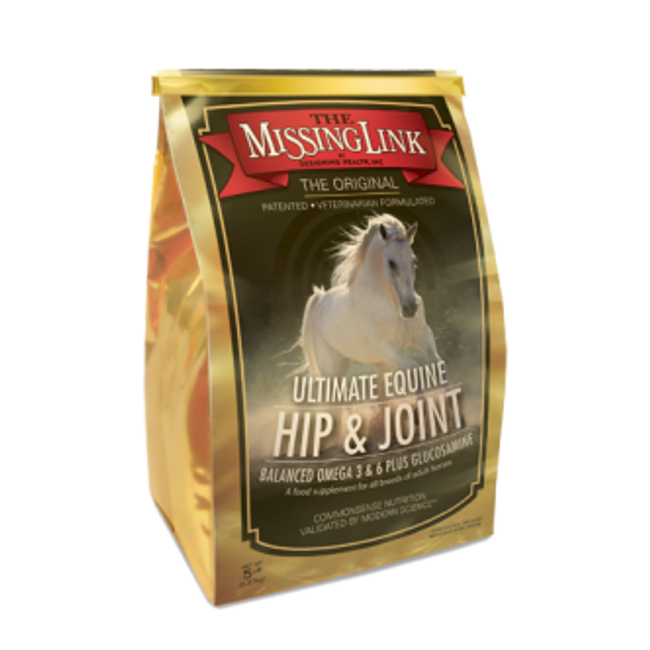 Missing Link Ultimate Equine Hip & Joint Formula - 5 lb. Pouch