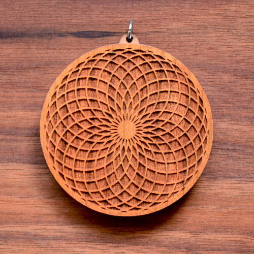 Tube Torus on Cherry Hardwood