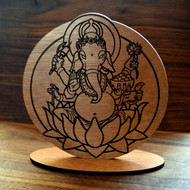 Ganesh Altarpiece Decor (Baltic Birch)
