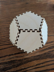DIY Dodecahedron Cube Model Kit