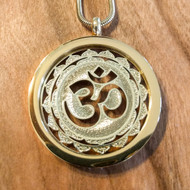 Om Pendant - 18 Karat Gold Plated Necklace