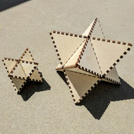 DIY 3D Star Tetrahedron Model Kit
