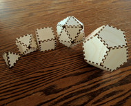 DIY 3D Platonic Solids Kit