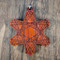 Cosmic Burst pendant on African Padauk Hardwood