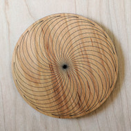 Circle Spiral Drink Coasters - Set of 4